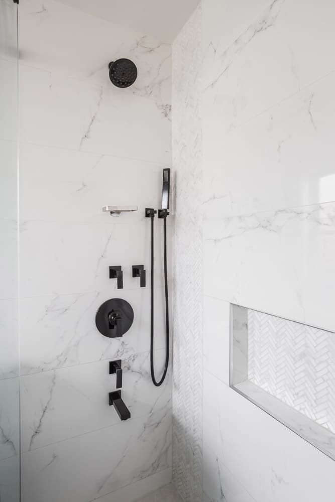 Midtown Manhattan Bathroom Shower Design