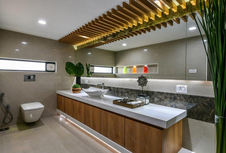 Office Building Bathroom Interior Design Mumbai