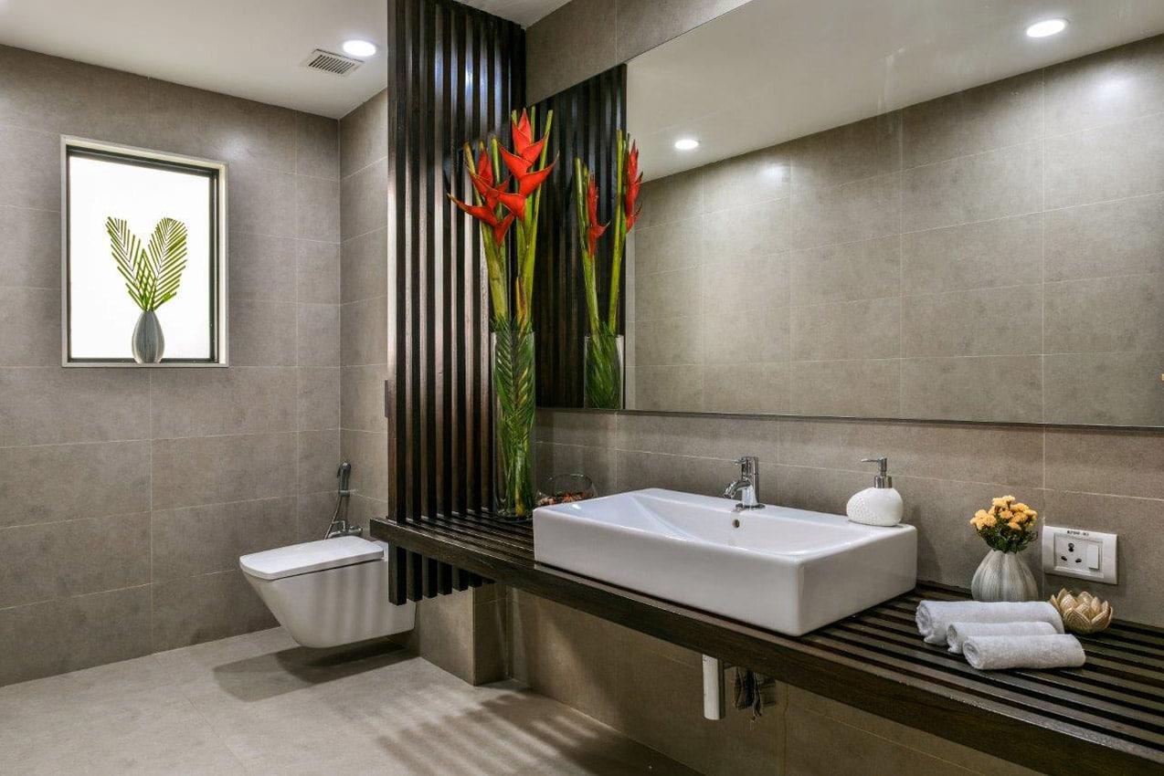 Office Building Mumbai Bathroom Sink Design