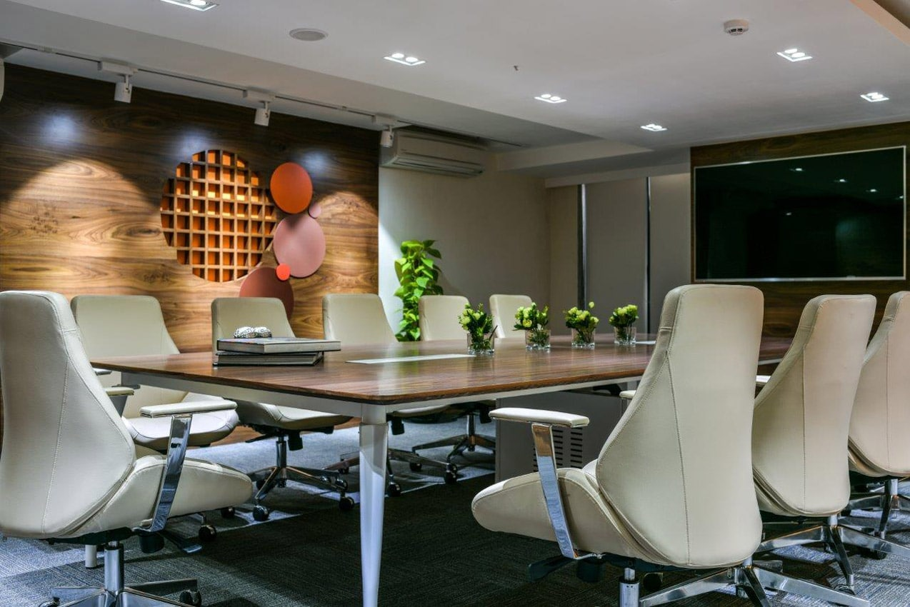 Office Building Mumbai Conference Room Interior
