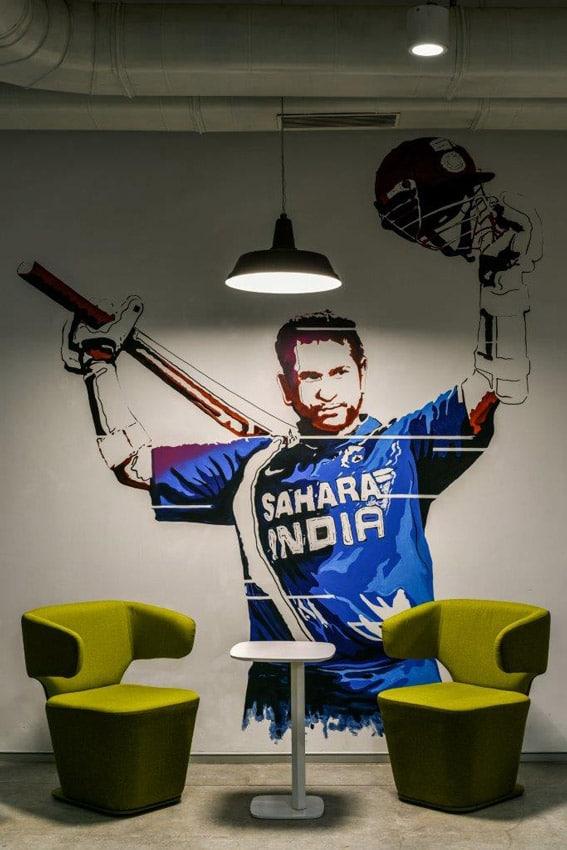 Office Building Mumbai Game Room Design