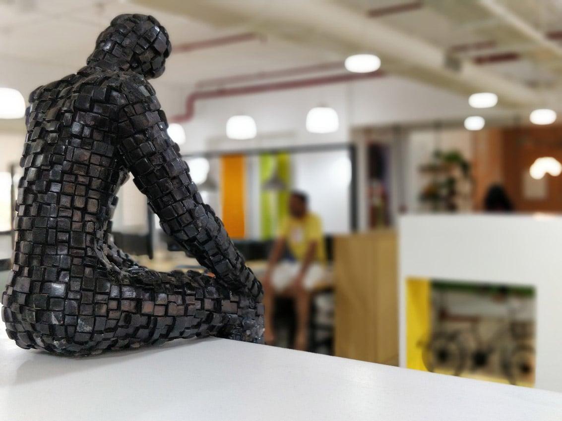 Office Building Mumbai Sculpture