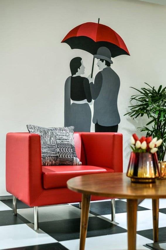 Office Building Mumbai Sofa Design