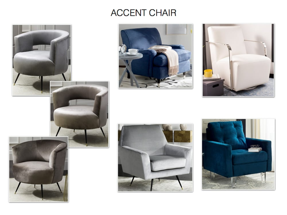 Family Room Accent Chair Princeton